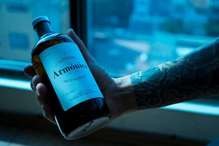 Valverde's Armónico gin.