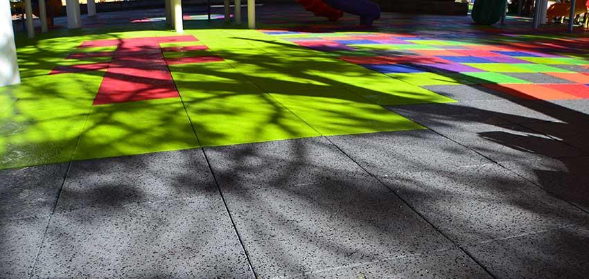 Guma's playground tiles.