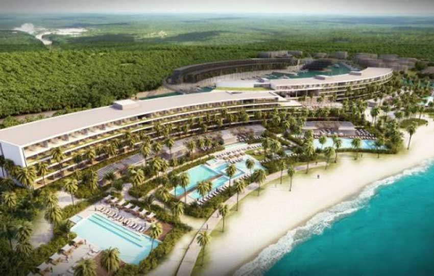 Paradisus Playa Mujeres is one of the luxury hotels scheduled to open this year.