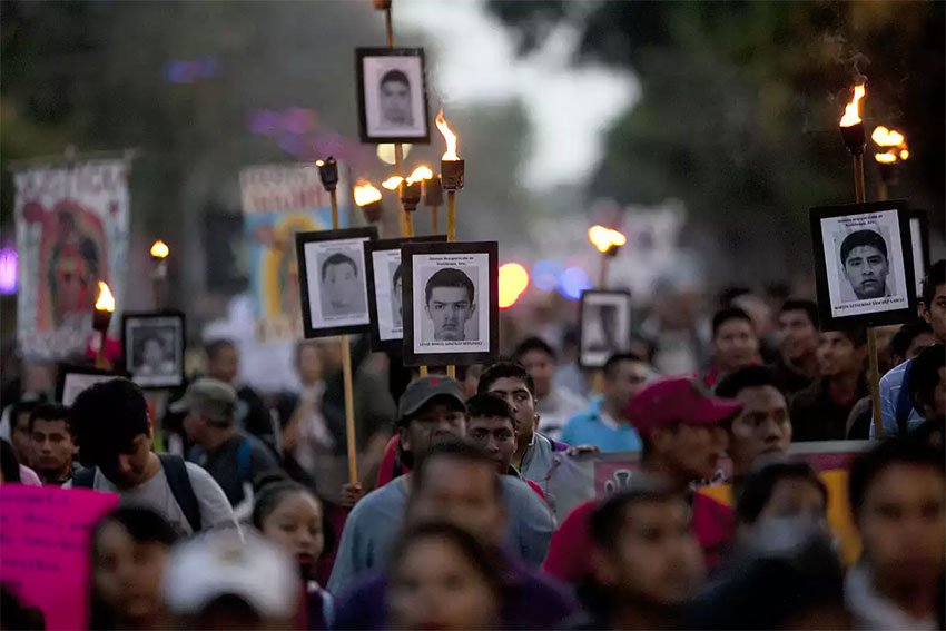 Mexicans have marched every year since 2014 to demand the truth about what happened to the 43 Ayotzinapa college students