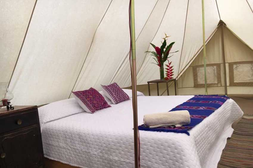 Luxurious camping in Oaxaca's southern Sierra.