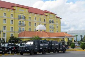 This hotel in Tamaulipas was home to Federal Police in 2015.