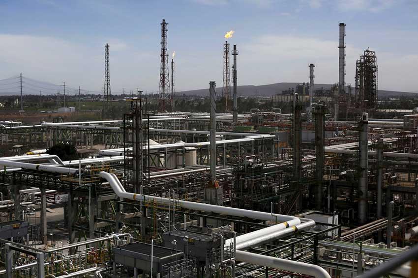 The oil refinery in Salamanca, Guanajuato.