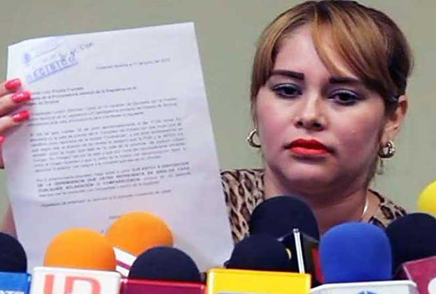 Sánchez, ex-lover of El Chapo Guzmán.
