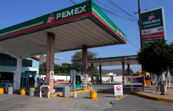 Pemex stations have been closed for lack of fuel.