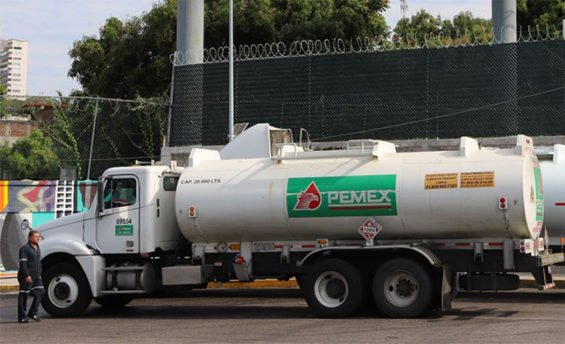 Pemex tanker trucks will be joined by those of private companies to transport fuel.