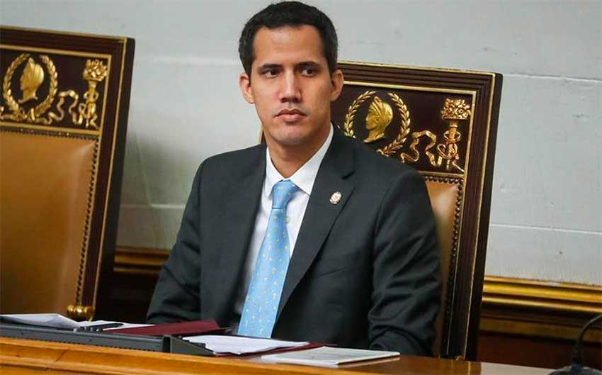 Juan Guaidó, self-declared interim president of Venezuela.