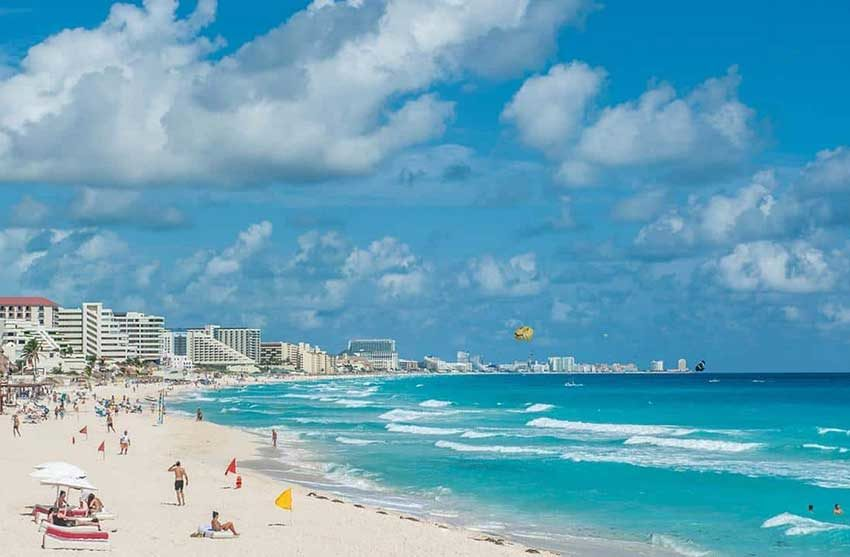 Cancún tourism numbers are seen as a barometer for the rest of Mexico.