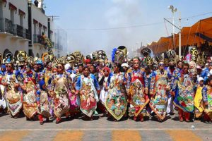 Expect to see colorful costumes at the Huejotzingo carnival.