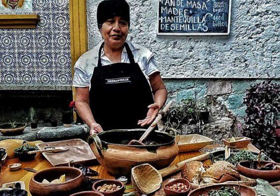 Hierba Dulce chef Georgina Cruz.