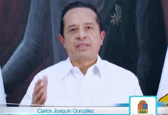 Governor Joaquín addresses the state over security situation.