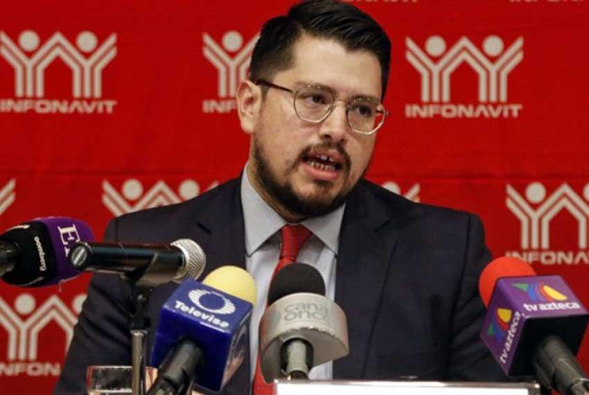 Infonavit head Martínez makes a lot less than his predecessor.