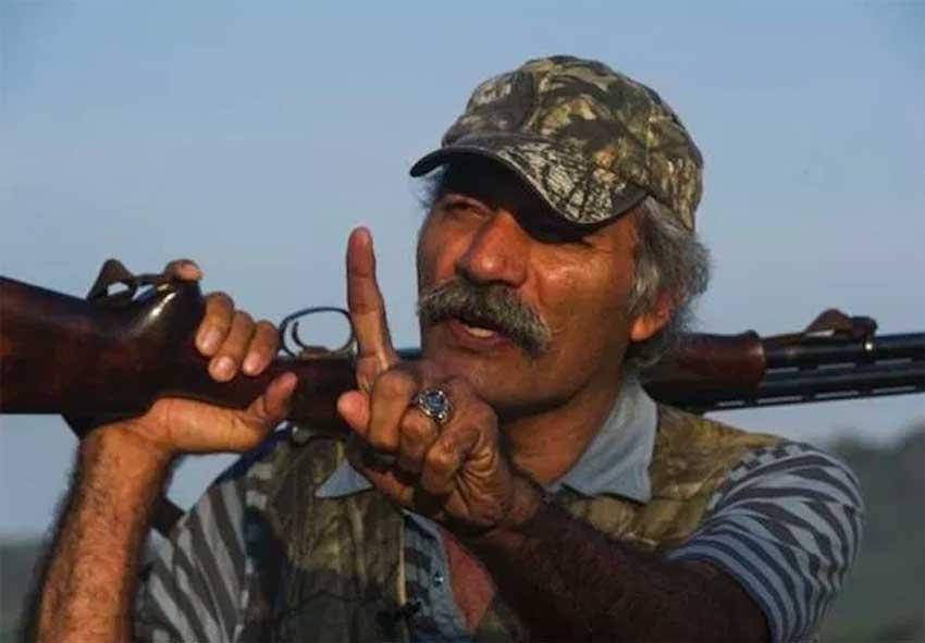 A gun-toting Mireles when he headed a self-defense force.