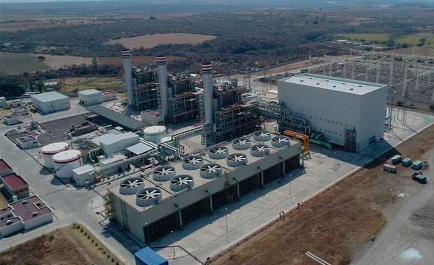 The Huexca thermal power plant.