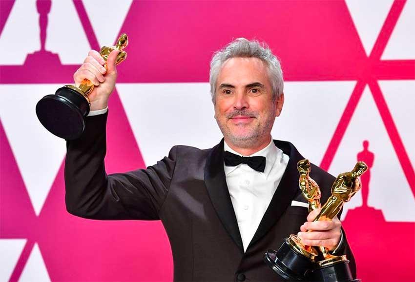 Cuarón and Roma's three Oscars.