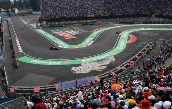 The Hermanos Rodríguez race track, home of the Mexican Grand Prix.