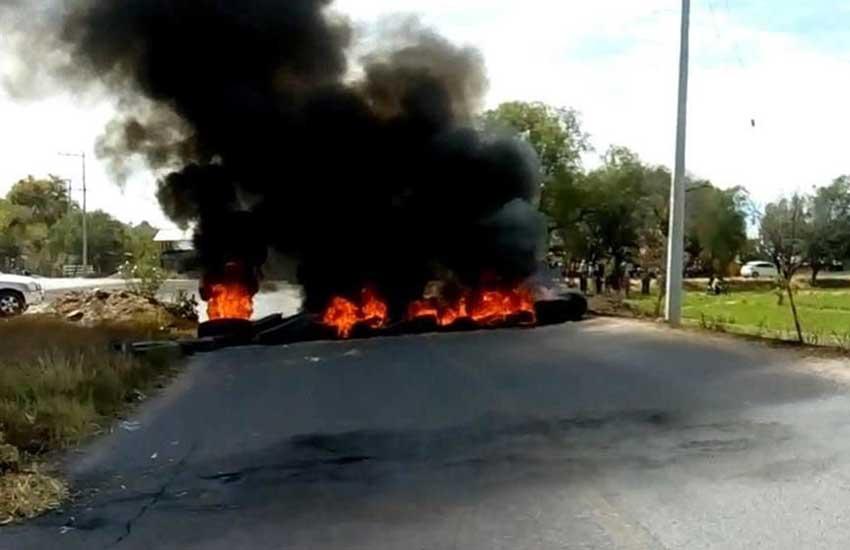 A blockade designed to repel federal forces in Santa Rosa de Lima.