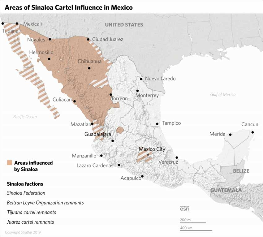 sinaloa cartel influence