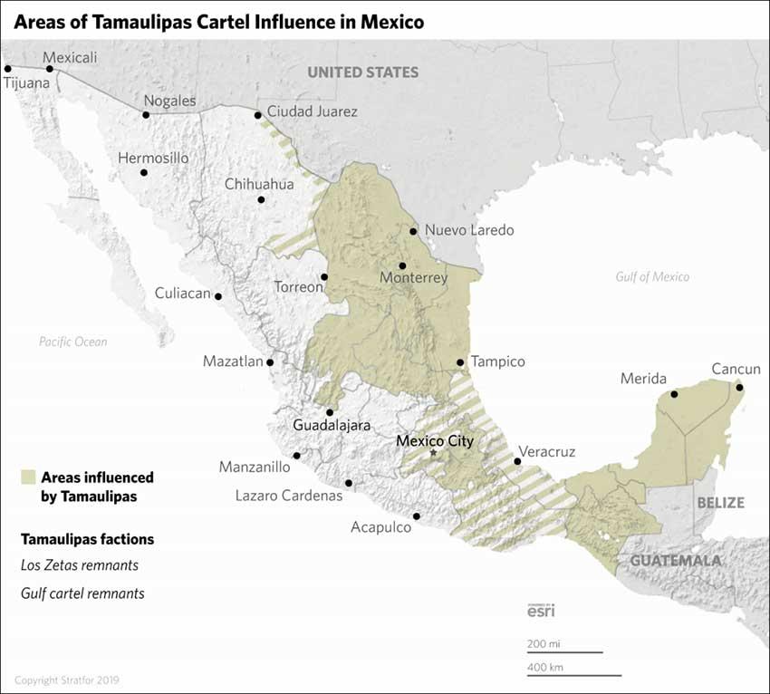 tamaulipas cartel influence