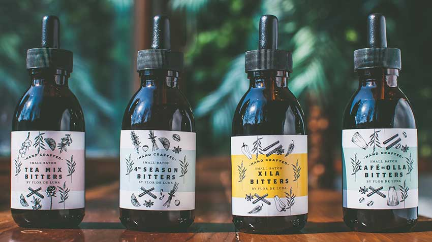 Bitters made by Flor de Luna.
