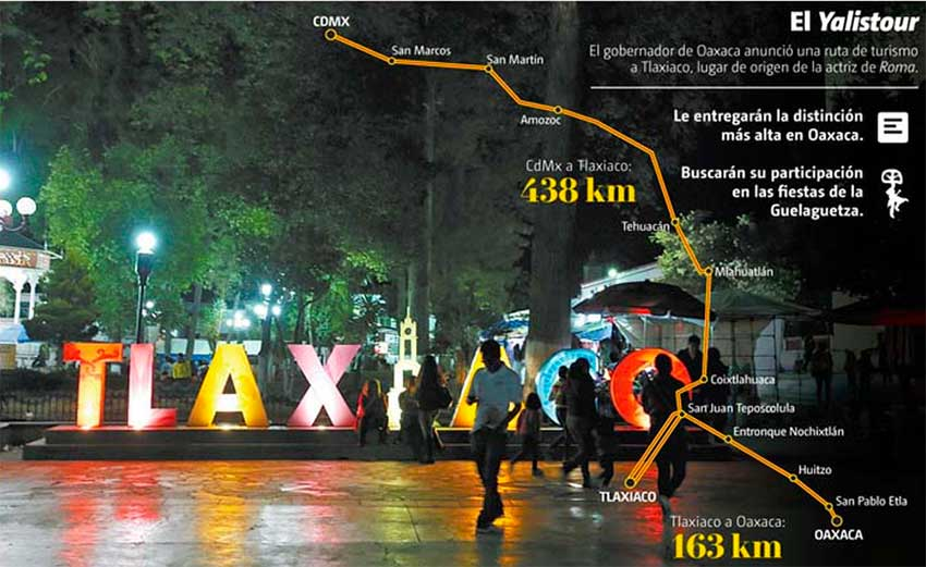 """The 'Yalistour,"""" a 438-kilometer roadtrip from Mexico City to Tlaxiaco."""