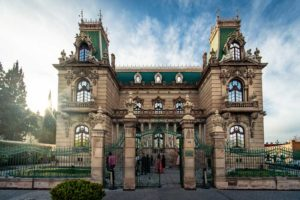 This 1910 Chihuahua mansion now houses a museum.