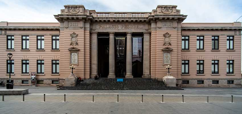 The former Federal Palace is now the Casa Chihuahua Museum.