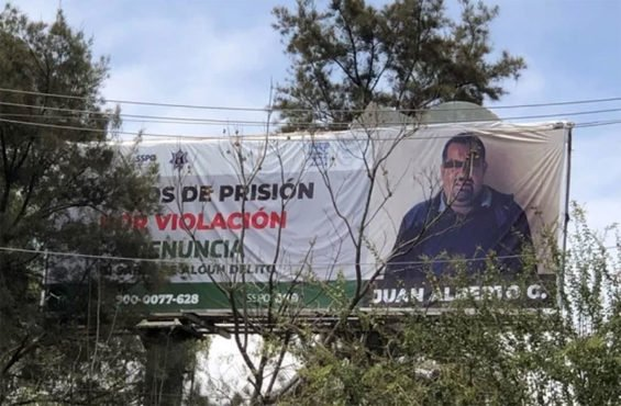 One of Oaxaca's new billboards.