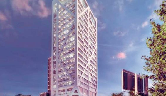 The Enquentro residential tower is one of the suspended projects.