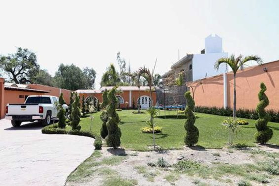 The second mansion to be seized in Santa Rosa de Lima.
