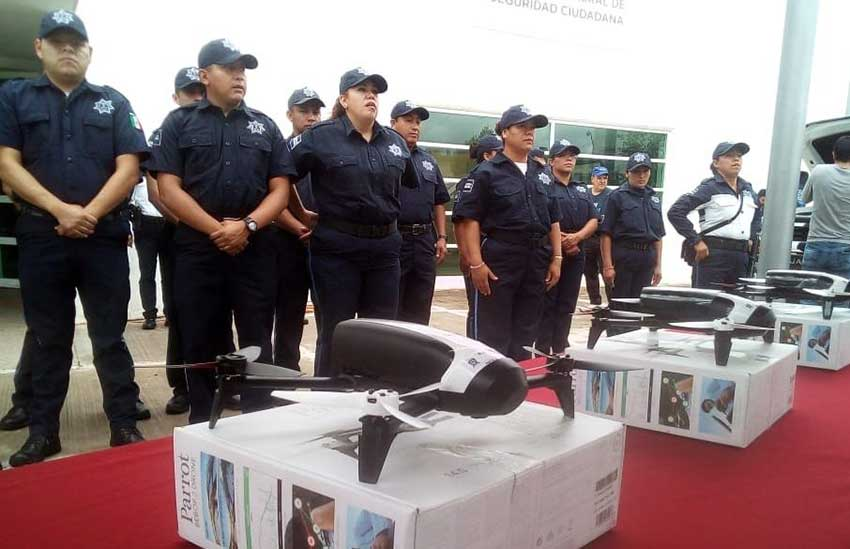 Guanajuato bought drones but they remain unused because police don't know how to operate them.