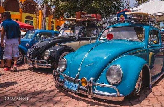 Volkswagen bugs at last year's Guayafest.