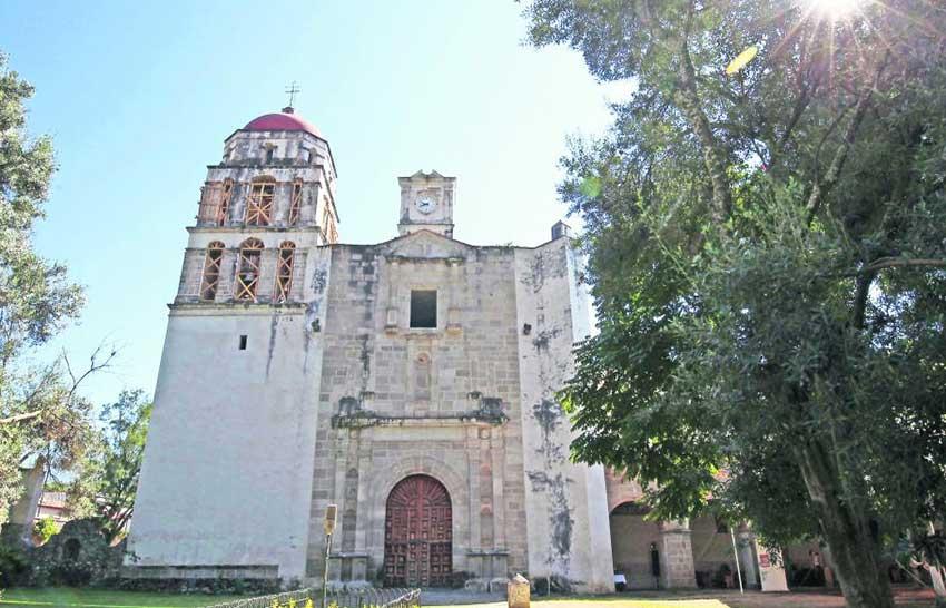 Malinalco's Augustine monastery.