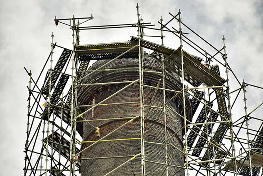 Two non-profits have completed restoration of the 130-year-old icon of the regional mining industry