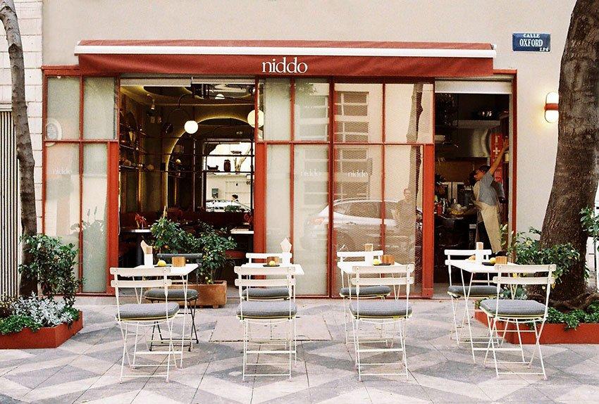 Niddo restaurant in Colonia Juárez, Mexico City.