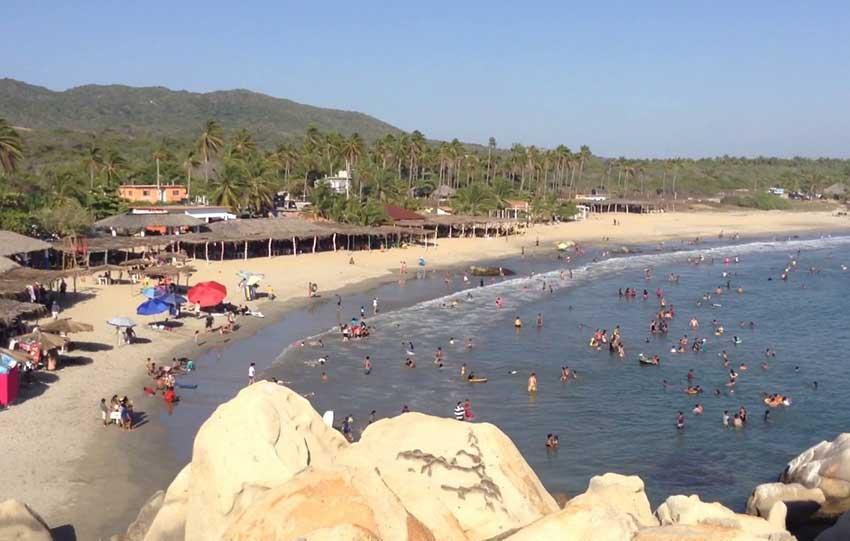 Playa Ventura, Guerrero.