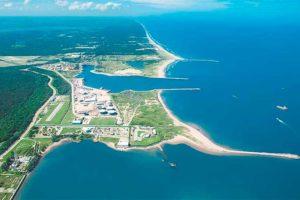 Site of the Dos Bocas refinery.