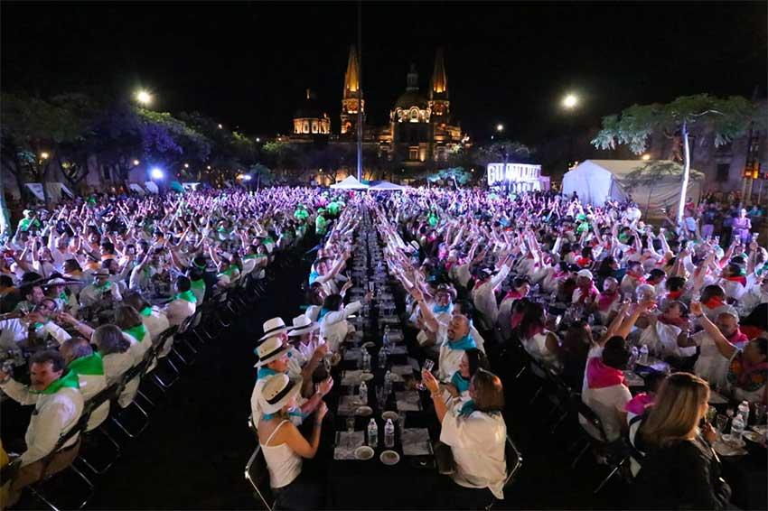 Tequila tasters break the world record in Guadalajara.