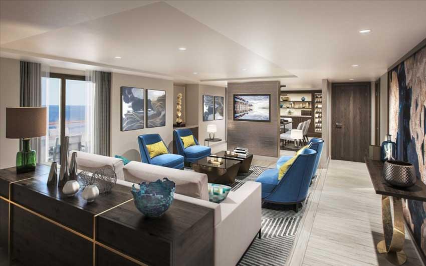 A luxury suite on the Vidanta Elegant.
