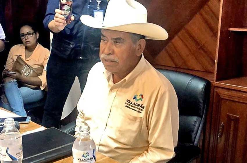 Mayor Lara: cartel doesn't operate in Villagrán.