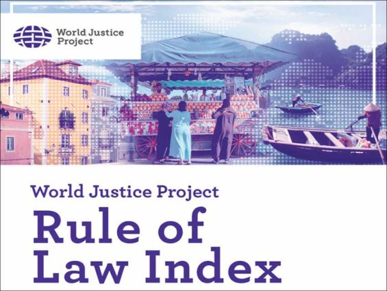 world justice project rule of law index