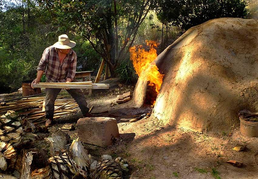 Making raicilla at Rancho Nuevo