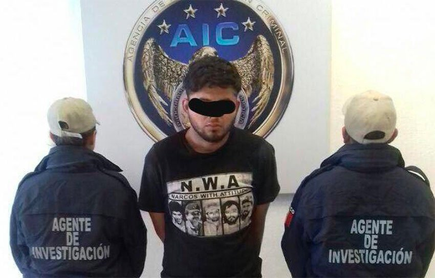 Suspected cartel killer 'El Titi.'