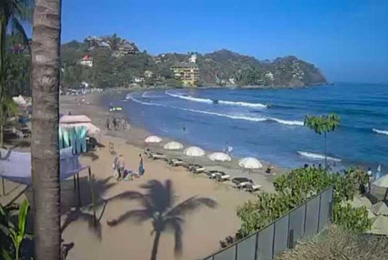 Sayulita beach, Nayarit, where a new treatment plant is being installed.