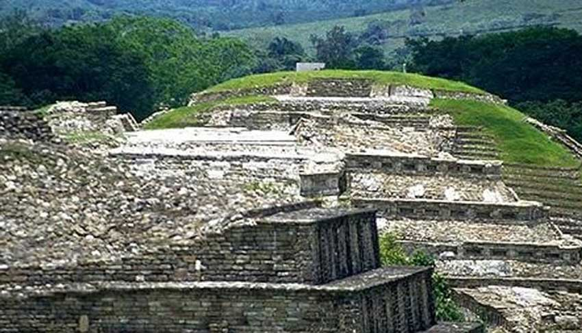 Cuauhtocho, an archaeological site in Veracruz that received no visitors last year.