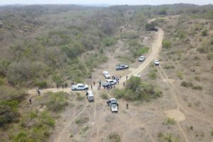 The area in Veracruz where hidden graves have been identified.