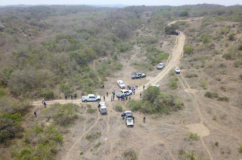 The area in Veracruz where hidden graves have been identified.