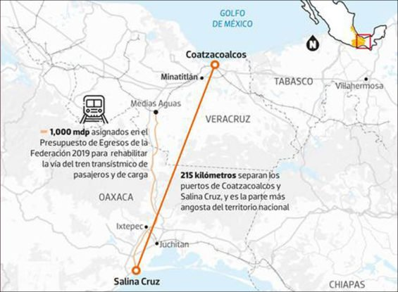 A new state-owned company will develop the Isthmus of Tehuantepec corridor.