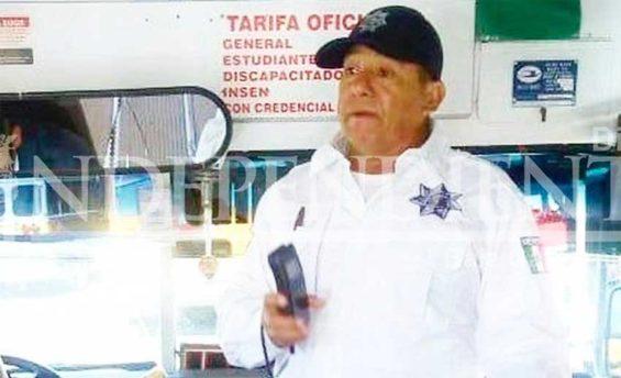 La Paz police officer Cisneros.