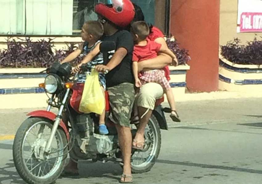 The second adult might soon have to get off the bike in Morelos.